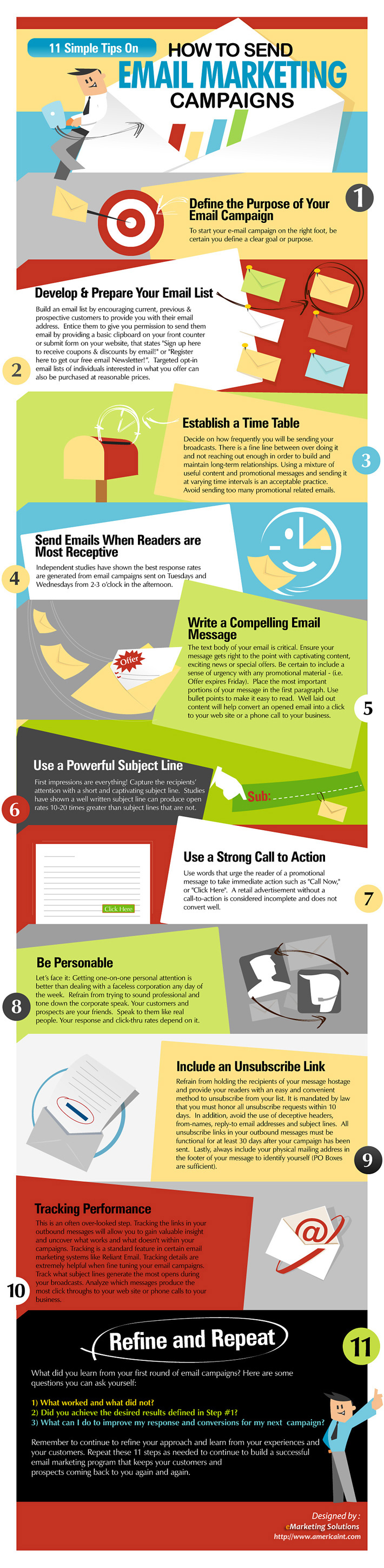 11 Simple Tips On Email Marketing Campaigns