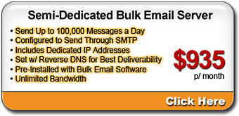 Semi-Dedicated Bulk Email Server