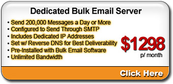 Dedicated Bullet Proof SMTP Server